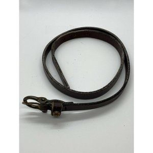 Etienne Aigner Ladies Leather Belt Brown Size 26 S